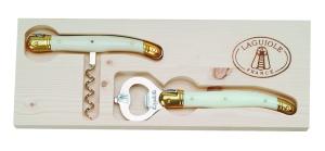French Farm Corkscrew Opener Ivory