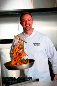 Market Street corporate chef Chris Wilson in one of the Market Street test kitchens