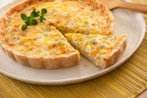 Cheesy Broccoli Quiche