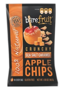 Crunchy Sea Salt Caramel Apple Chips_100% Natural